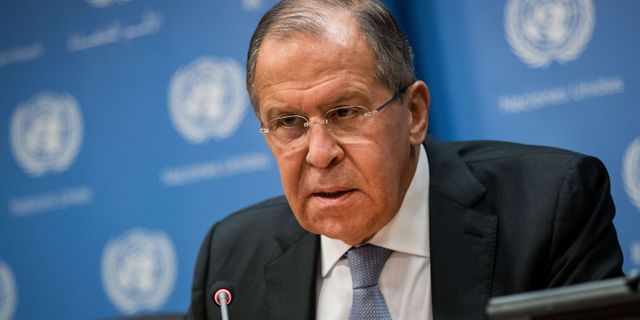 Sergej Lavrov, arkivbild. Drew Angerer / GETTY IMAGES NORTH AMERICA