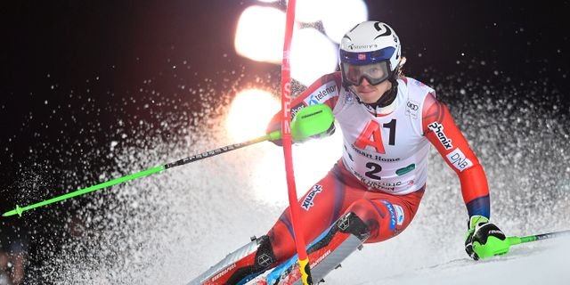 Kristoffersen JOE KLAMAR / AFP