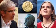 Paul Romer, Esther Duflo, Alfred Nobel.  TT/Wikimedia Commons.