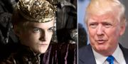 Joffrey Baratheon. Donald Trump. HBO, AFP