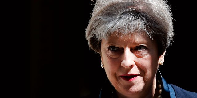 Theresa May. Arkivbild. Frank Augstein / TT / NTB Scanpix
