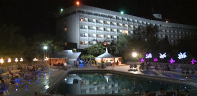 Hotel Intercontinental i Kabul.