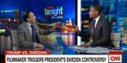 Filmmakaren Ami Horowitz och CNN:s Don Lemon i studion. CNN