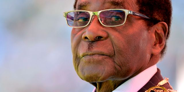 Robert Mugabe.  ALEXANDER JOE / AFP