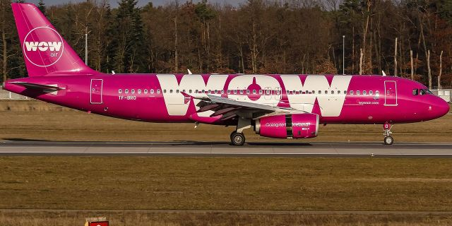 Wow Air-flygplan.  Wikimedia Commons.