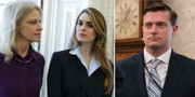 Hope Hicks och Rob Porter. TT