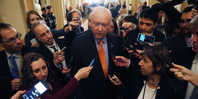 Orrin Hatch. CHIP SOMODEVILLA / GETTY IMAGES NORTH AMERICA