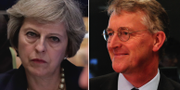 Arkiv, Theresa May, Hilary Benn. TT