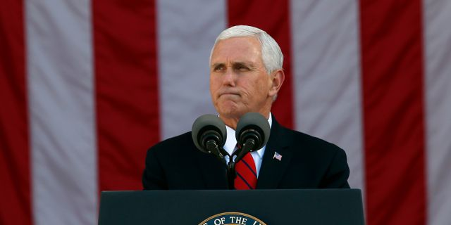 Mike Pence. Alex Brandon / TT / NTB Scanpix
