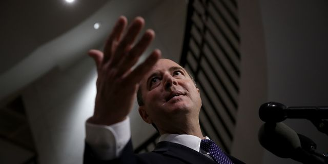 Adam Schiff. WIN MCNAMEE / GETTY IMAGES NORTH AMERICA
