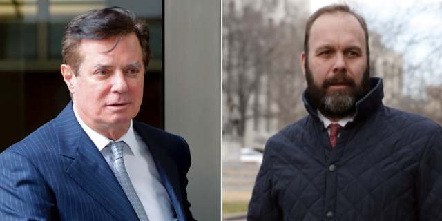 Paul Manafort och Rick Gates.