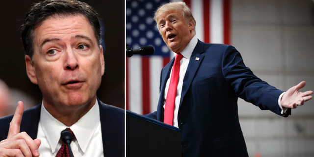 James Comey, Donald Trump. TT