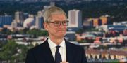 Tim Cook, vd på Apple.  Andy Barron / TT / NTB Scanpix