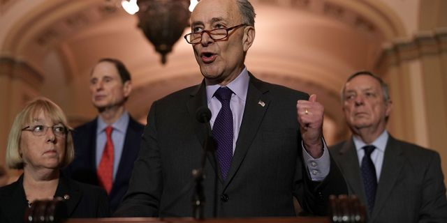 Chuck Schumer. ALEX WONG / GETTY IMAGES NORTH AMERICA