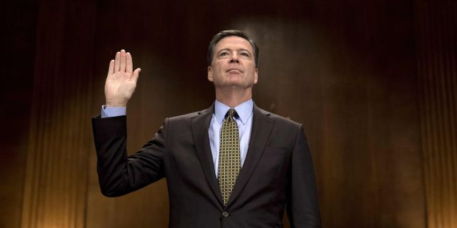 James Comey. JIM WATSON / AFP
