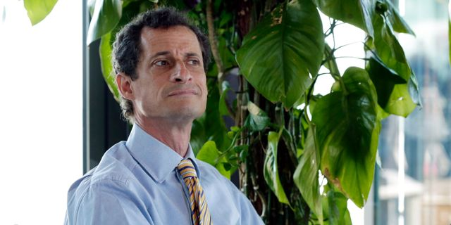 Anthony Weiner.  Richard Drew / TT / NTB Scanpix