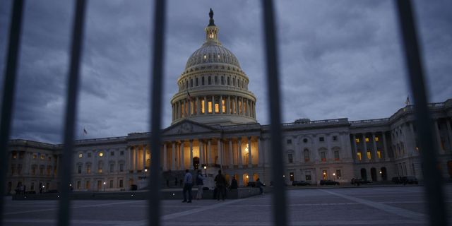 USA:s kongress Capitol Hill. Drew Angerer / GETTY IMAGES NORTH AMERICA