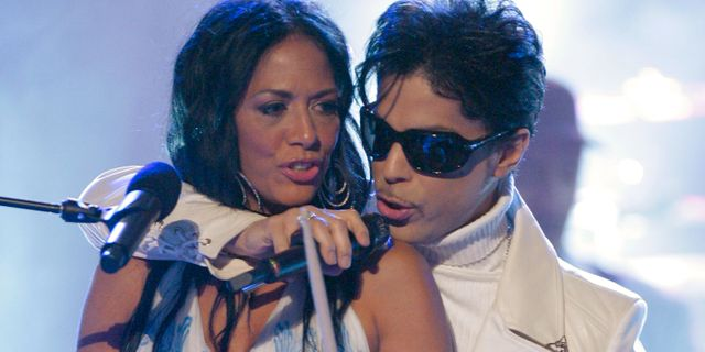 Shelia E. under en konsert med Prince 2007. Mark J. Terrill / TT / NTB Scanpix