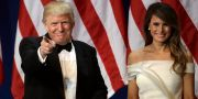 Donald och Melania Trump David J. Phillip / TT / NTB Scanpix