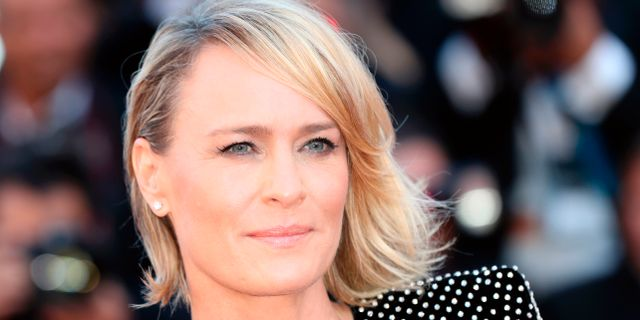 Robin Wright i Cannes, 17 maj.  VALERY HACHE / AFP
