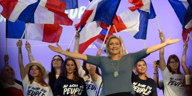 Marine Le Pen. Arkivbild från september, 2016. Claude Paris / TT / NTB Scanpix