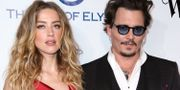 Amber Heard och Johnny Depp. Rich Fury / TT / NTB Scanpix