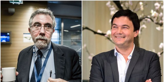 Paul Krugman och Thomas Piketty