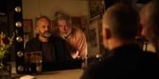 """Johan Rheborg och Jakob Eklund i """"En komikers uppväxt"""". SF Studios"""