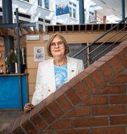 Internationella engelska skolans grundare Barbara Bergström Malin Hoelstad/SvD/TT / TT NYHETSBYRÅN