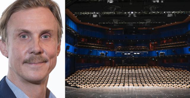 Simon Norrthon, ordförande Teaterförbundet Teaterförbundet/TT