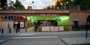 T-banestationen i Rågsved. 200 / TT NYHETSBYRÅN