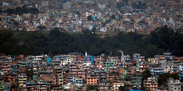 Arkivbild. Nepals huvudstad Katmandu. Navesh Chitrakar / TT NYHETSBYRÅN