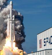 Space X-uppskjutning John Raoux / TT NYHETSBYRÅN