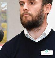 Hussein Ibrahim, rektor och Roger Lindquist, biträdande rektor på den muslimska friskolan Al-Azharskolan i Vällingby. Pontus Lundahl/TT / TT NYHETSBYRÅN