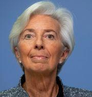 ECB-chefen Lagarde. Michael Probst / TT NYHETSBYRÅN