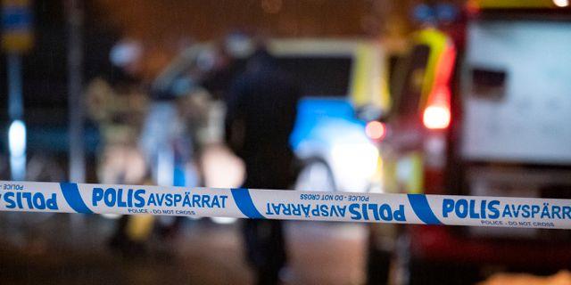 Arkivbild, polisinsats. Johan Nilsson/TT / TT NYHETSBYRÅN