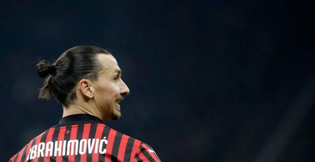 Zlatan Ibrahimovic. Luca Bruno / TT NYHETSBYRÅN