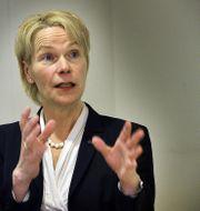 Catrin Fransson, vd för Svensk Exportkredit. TT