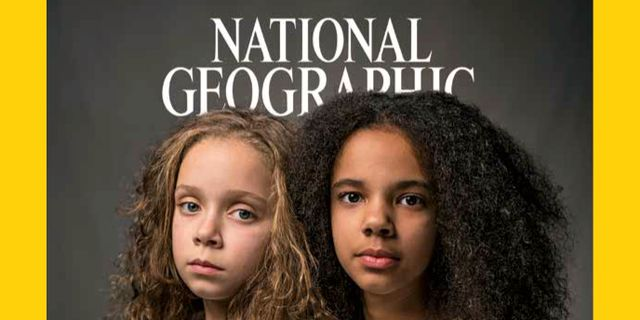 Omslaget från National Geographics aprilutgåva 2018. TT / NTB Scanpix