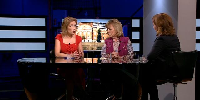 Annika Strandhäll och Beatrice Ask. Agenda /SVT