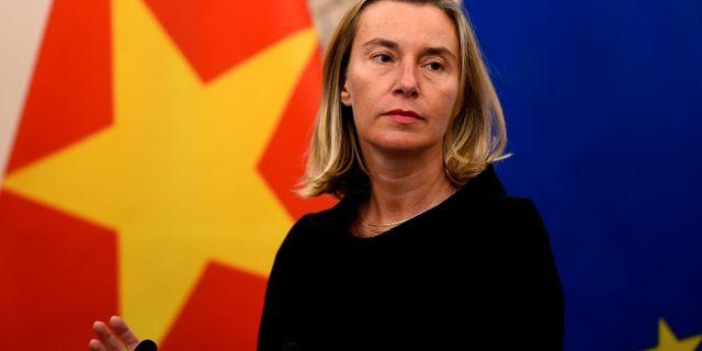 EU:s utrikespolitiska chef Federica Mogherini. NHAC NGUYEN / AFP