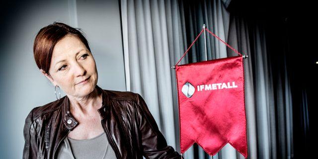 Arkivbild: IF Metalls förbundsordförande Marie Nilsson.  Tomas Oneborg/SvD/TT / TT NYHETSBYRÅN