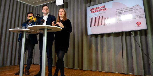Valanalysen presenterades tidigare idag. Anders Wiklund/TT / TT NYHETSBYRÅN