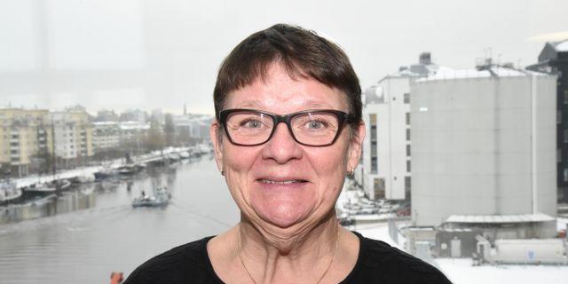 Anne-Marie Eklund-Löwinder på Internetstiftelsen. Marko Säävälä/TT / TT NYHETSBYRÅN