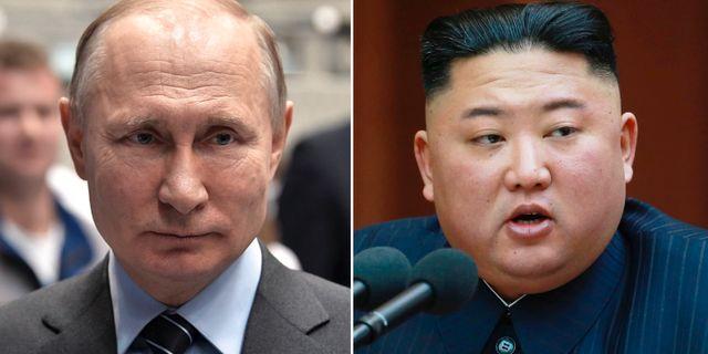 Vladimir Putin/Kim Jong-Un. TT