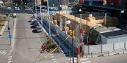 Helsingborgs sjukhus förbereder för Covid-19. Andreas Hillergren / TT NYHETSBYRÅN