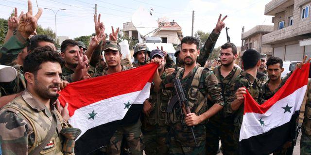 Syriska trupper. Illustrationsbild. TT NYHETSBYRÅN