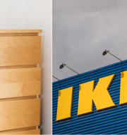 Malmbyrån från Ikea är föremål för den stora rättstvisten som nu  Ikea
