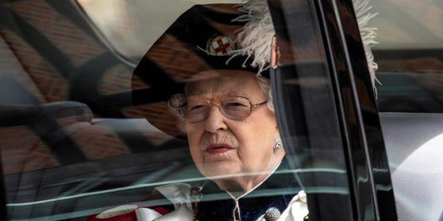 Drottning Elizabeth II. Richard Pohle / TT NYHETSBYRÅN/ NTB Scanpix
