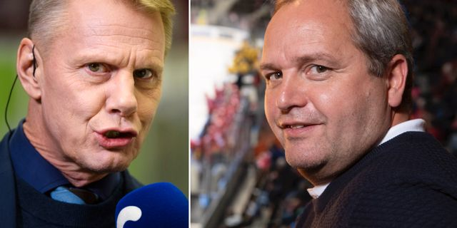 Niklas Wikegård och Michael Sundlöv. Bildbyrån
